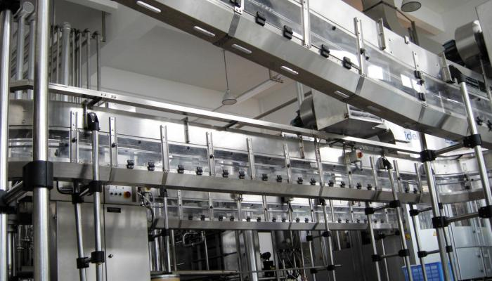 AMT Brewery Conveyor