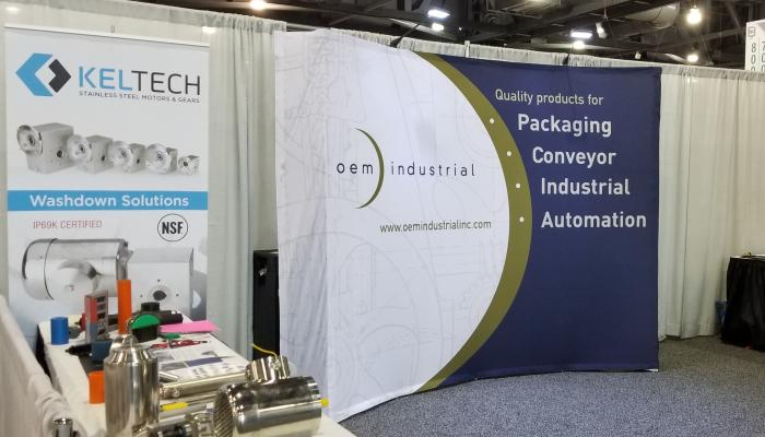OEM at PACK EXPO East in Philadelphia