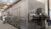individual quick freezing tunnel freezers